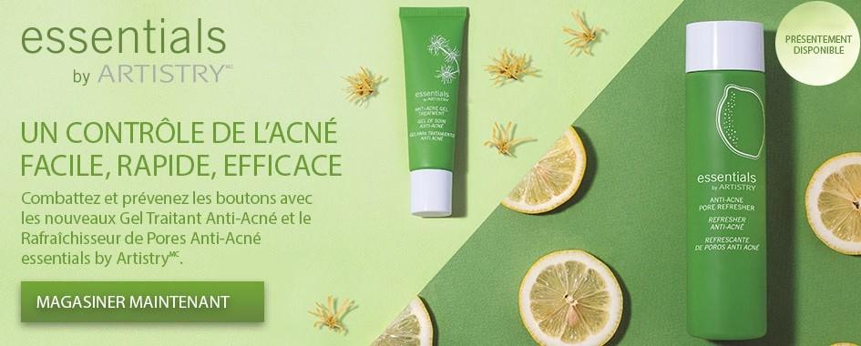 Contrôlez votre acné